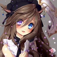 C  whitefflace by Zereshi