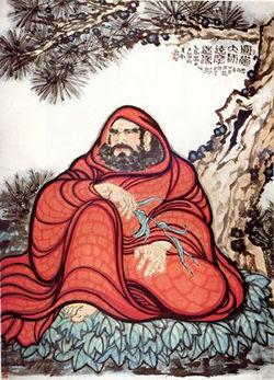 Bodhidharma by DASBRUD