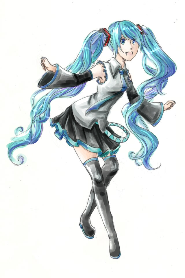 HATSUNE MIKU by JCAwesome