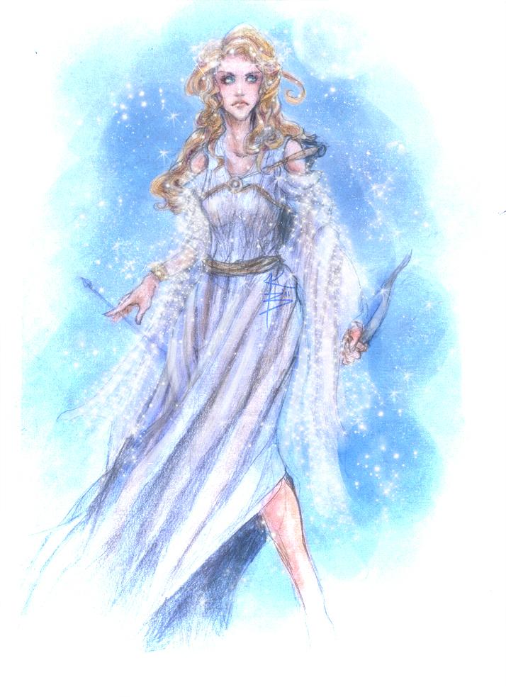 Anime Artemis Goddess | www.imgkid.com - The Image Kid Has It!