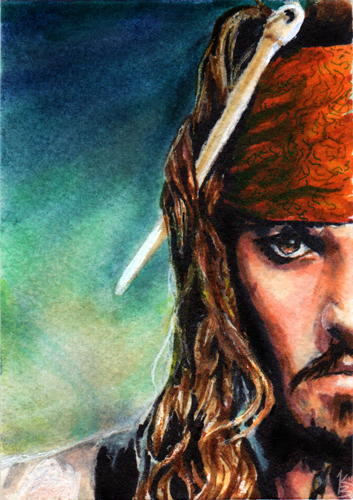 Jack Sparrow by Doodleholic