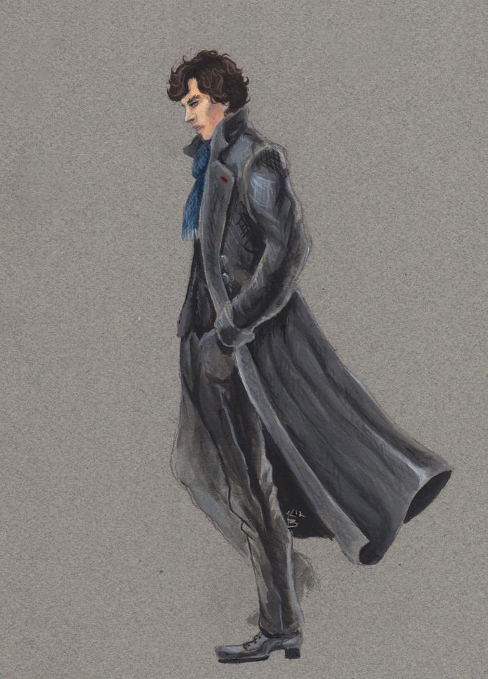 Sherlock by Doodleholic