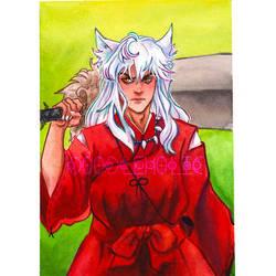 Inuyasha Watercolor