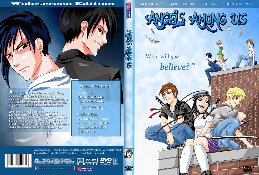 Angels Among Us_DVD case mockup by Half-Elf