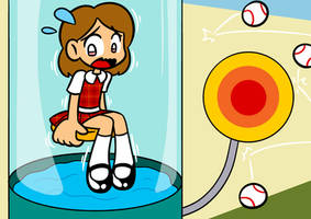 Susie Dunking Booth by Alenonimo