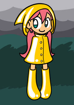 Raincoat Girl