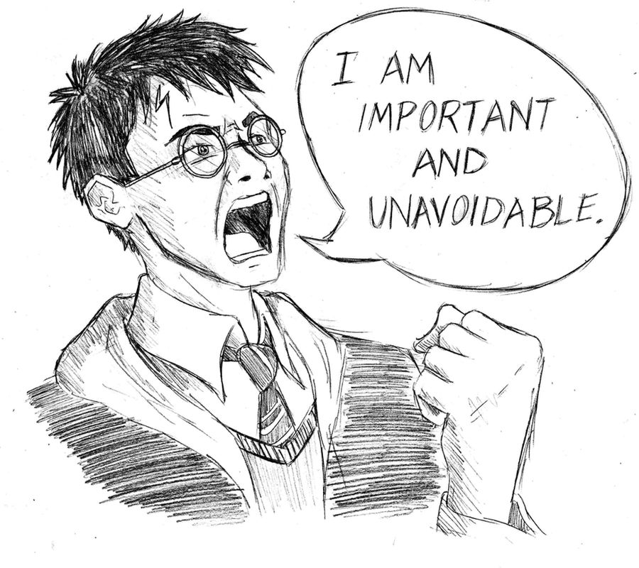 Harry Potter gets angry by Tom-the-S