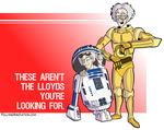 Star Wars/Back to the Future Mash-up?