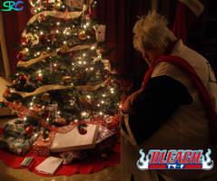 Christmas Toshiro by ladyjessien