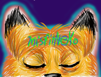 Misfitneko's YT channel art. by ladyjessien