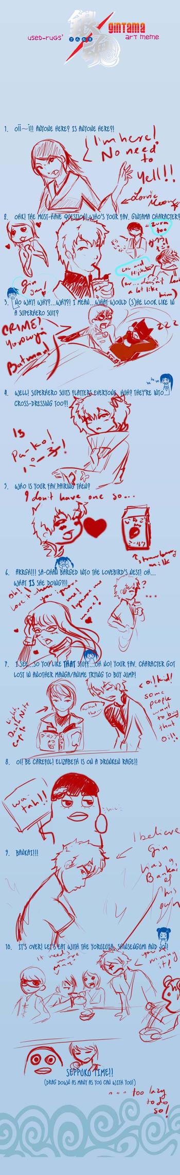 Gintama art meme by LorvicMeow