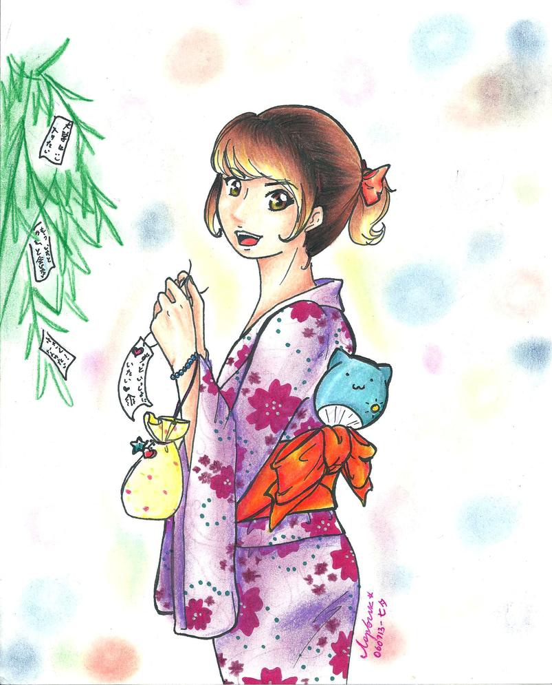 Tanabata wish by LorvicMeow