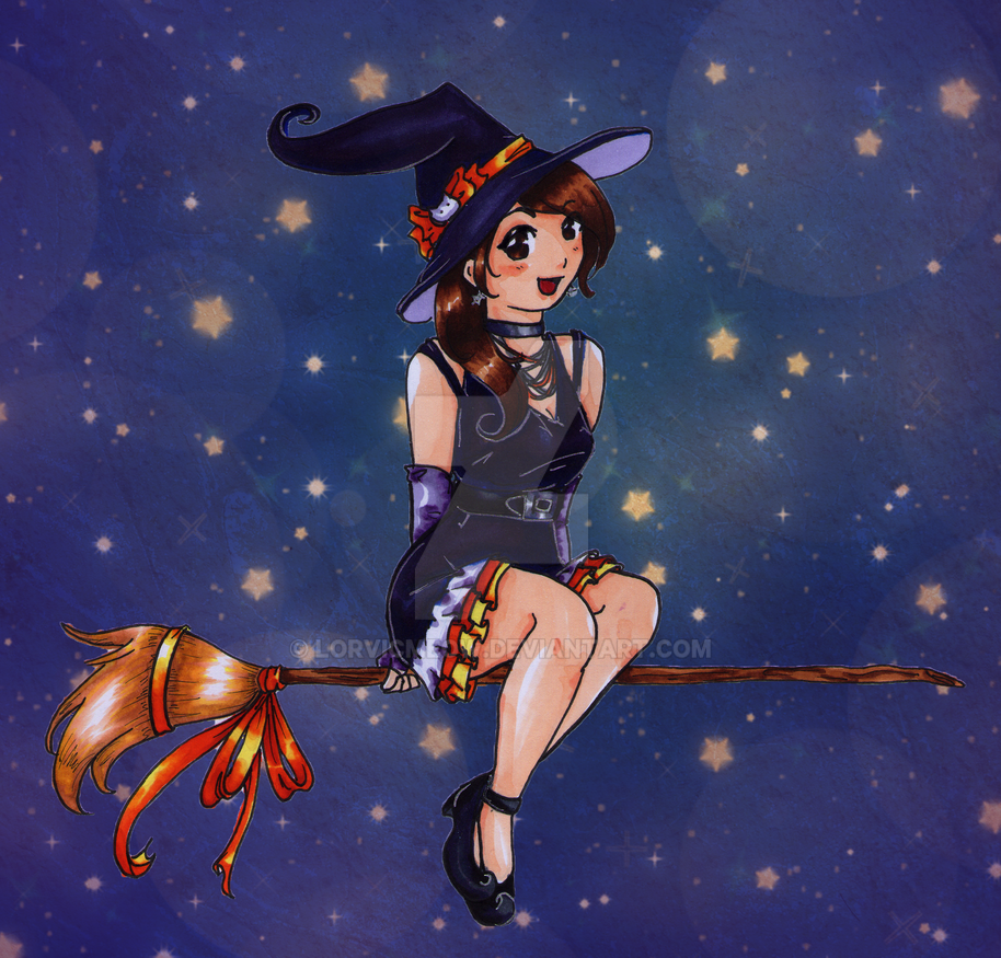 Happy Hallowitch by LorvicMeow