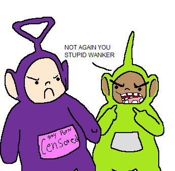 who is the gay tella tubbie