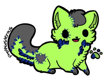 Kittenie 1 by FoxxyBatmanAdopts