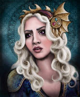 The Dragon Queen by Annie-Stuart