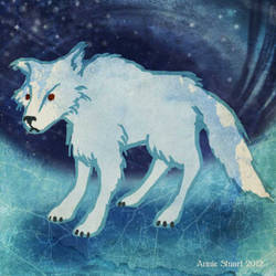 Ghost the Direwolf