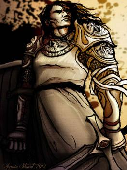 Sandor Clegane in Fancy Armor