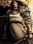 Sandor Clegane in Fancy Armor by Annie-Stuart
