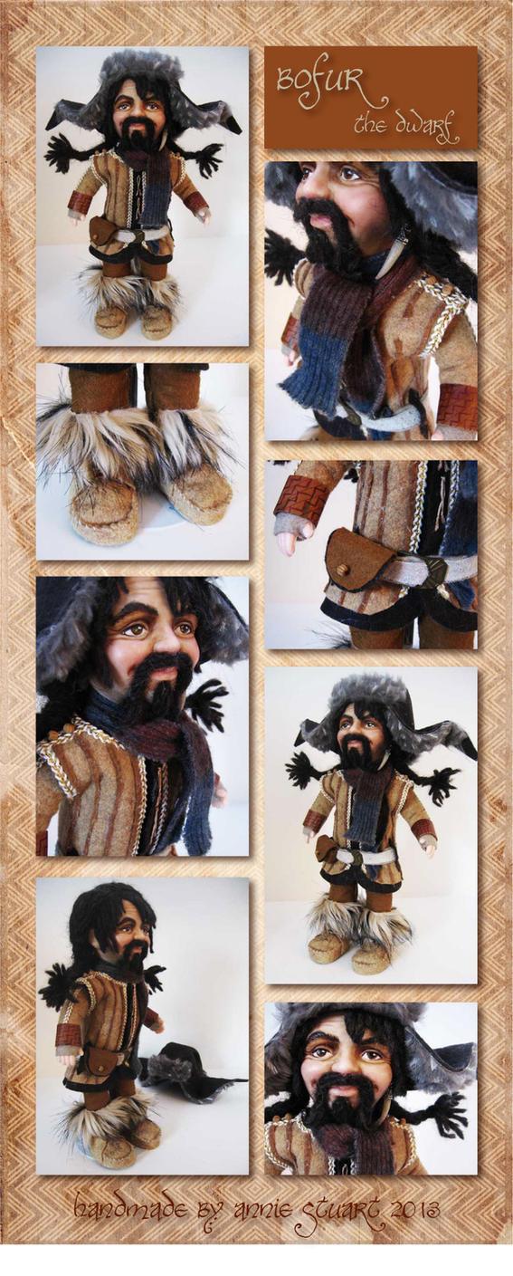 Doll- Bofur the Dwarf by Annie-Stuart