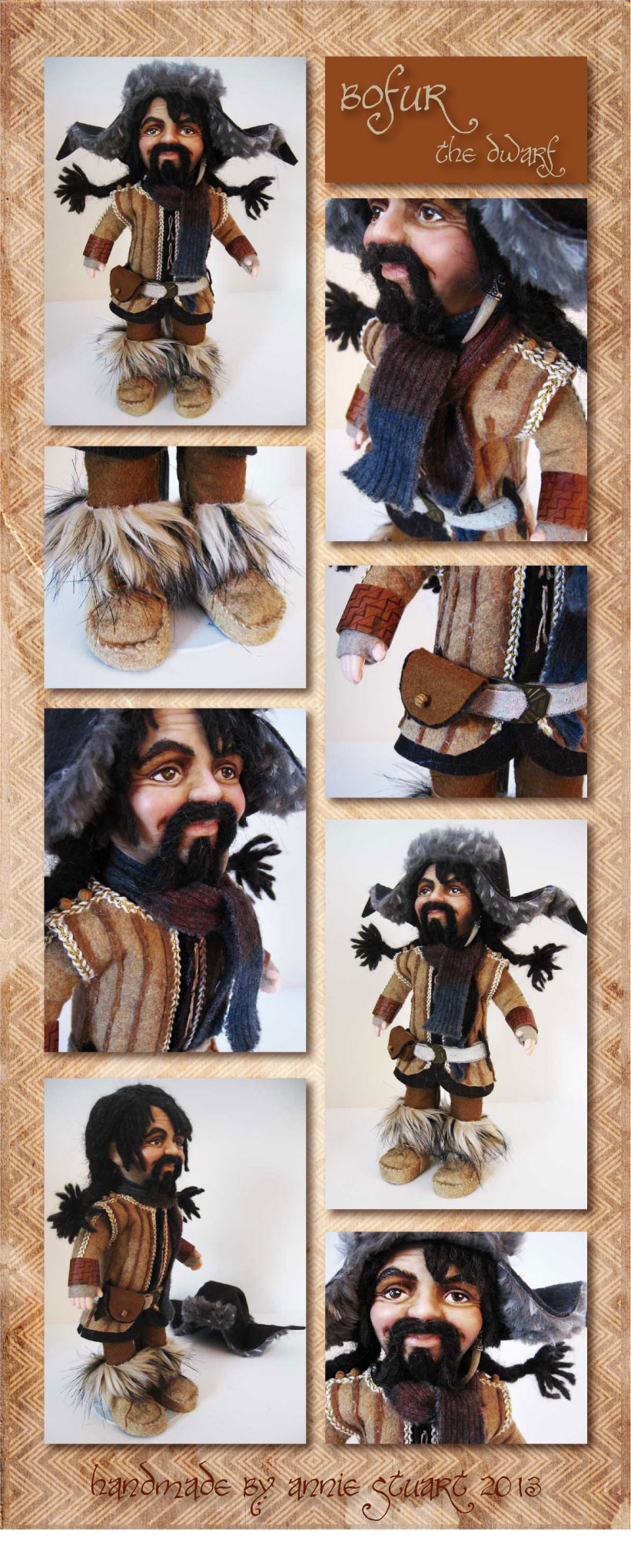 Doll- Bofur the Dwarf by Annie-Stuart