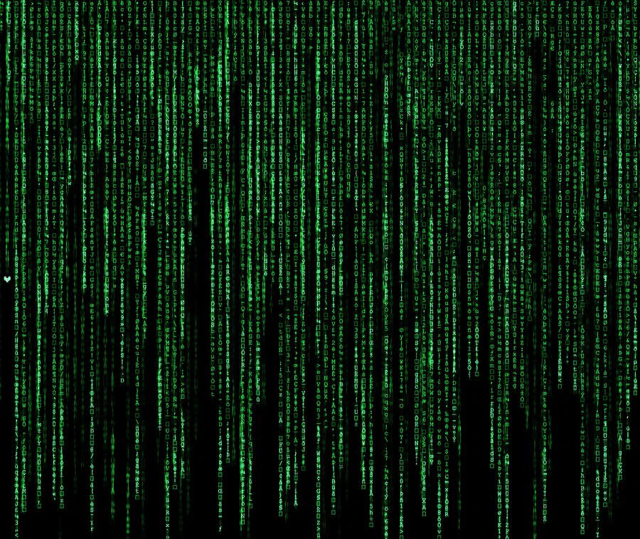 The MatrixDigital Rain By Yoanribeiro