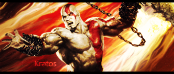 [God of War]Kratos Signature by yoanribeiro