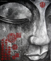 Buddha closer by NessWeb