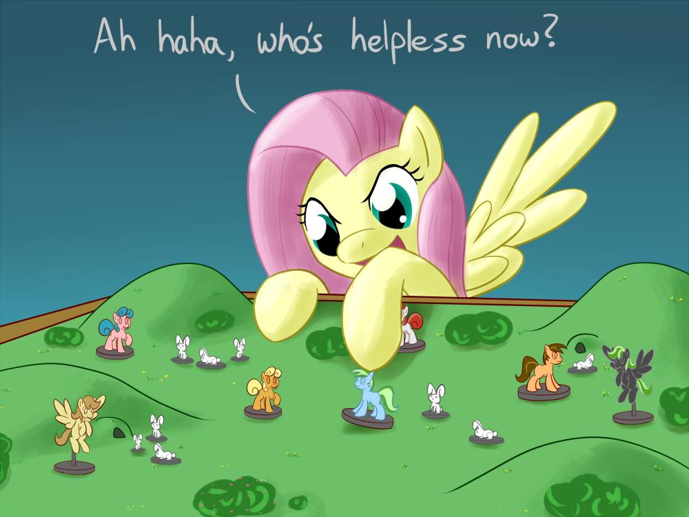Fluttershy in command by Whatsapokemon