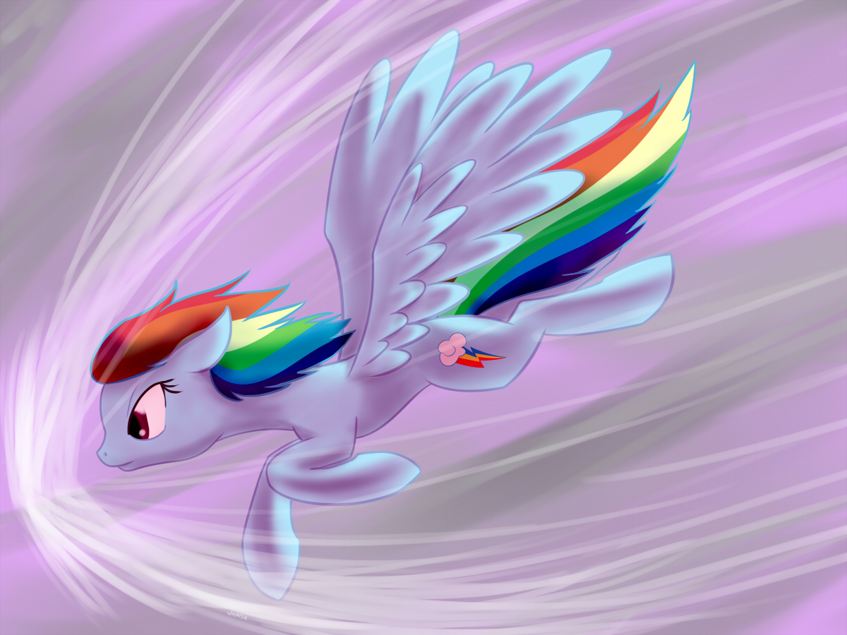 The Speed of Rainbow by Whatsapokemon