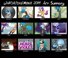 Whatsapokemon's Art summary for 2014 by Whatsapokemon