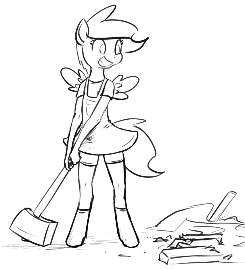 Filly Jade Smash! by Whatsapokemon