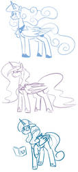 Princess Fusions by Whatsapokemon