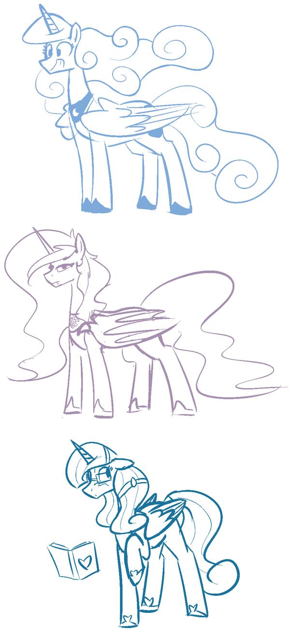 Princess Fusions by Whatsapokemon