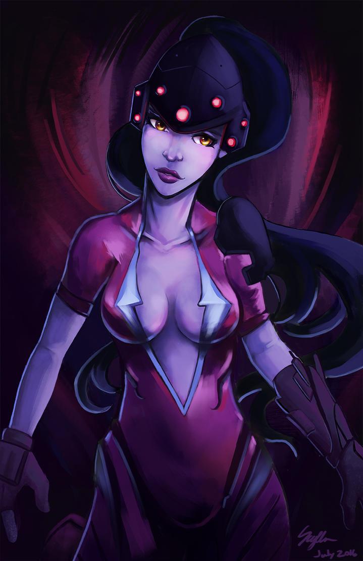 Overwatch - Widowmaker by Scylla812
