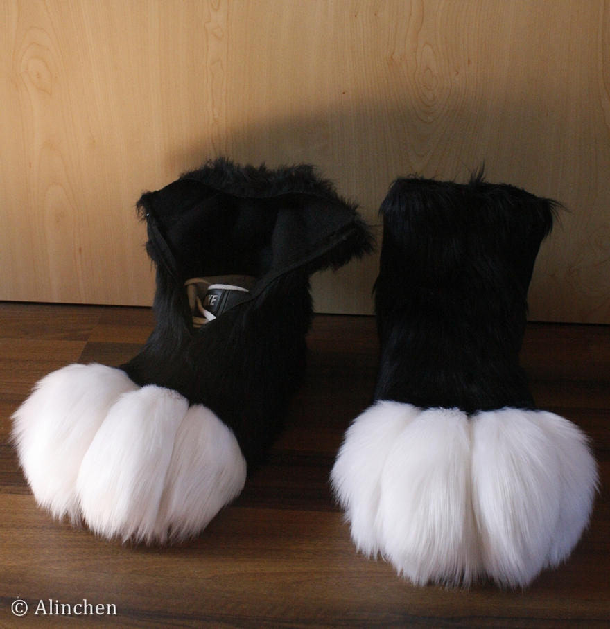 Fursuit Feetpaws by Alinchen-Tenny