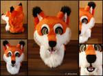 Fox Fursuit Head