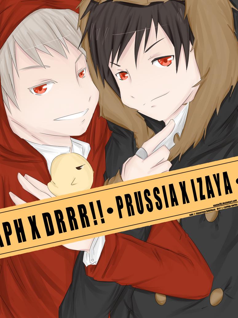 Prussia Izaya - CrossOver by naznaz95