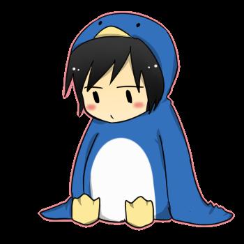 izaya penguin by naznaz95