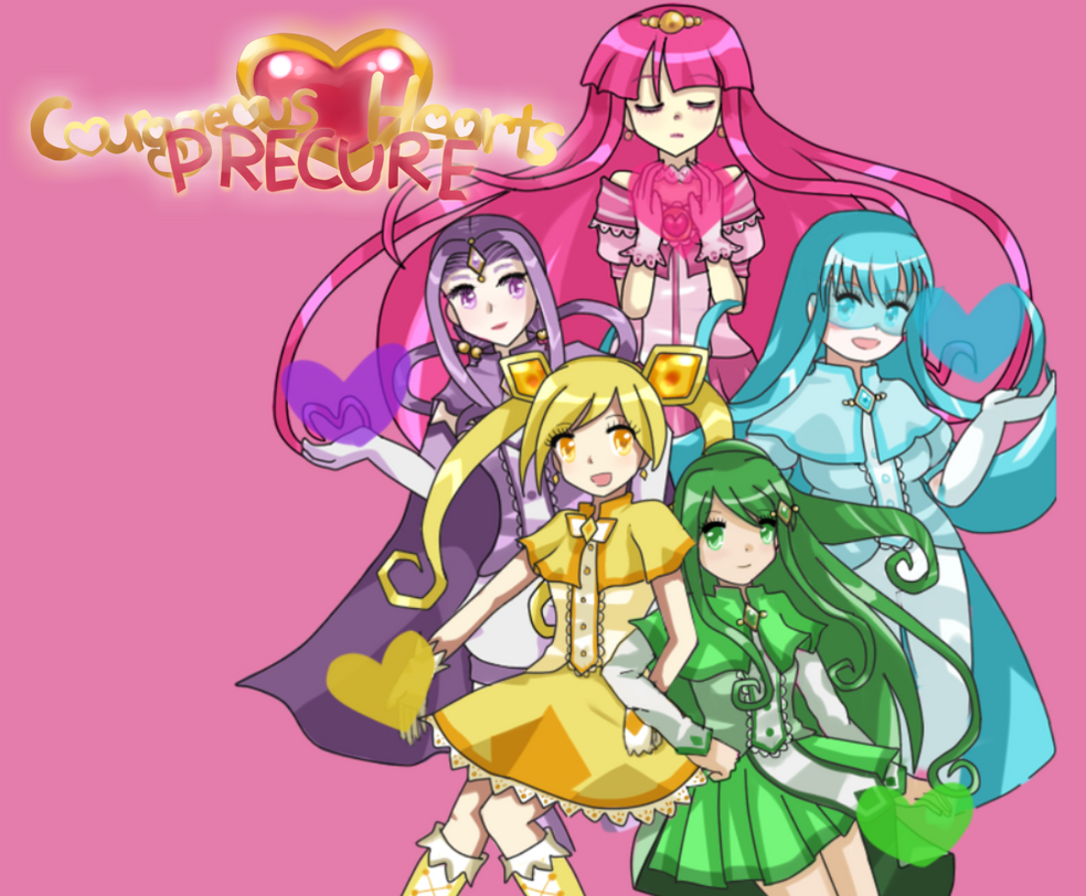 Courageous Heart Precure by Frogberri
