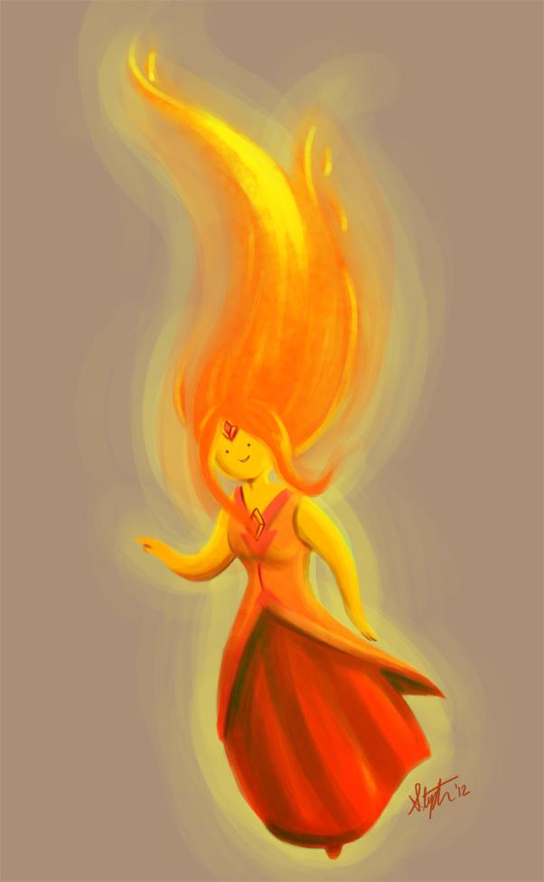 Flame Princess by yorikitsune