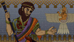 Sargon of Akkad by LEONOX
