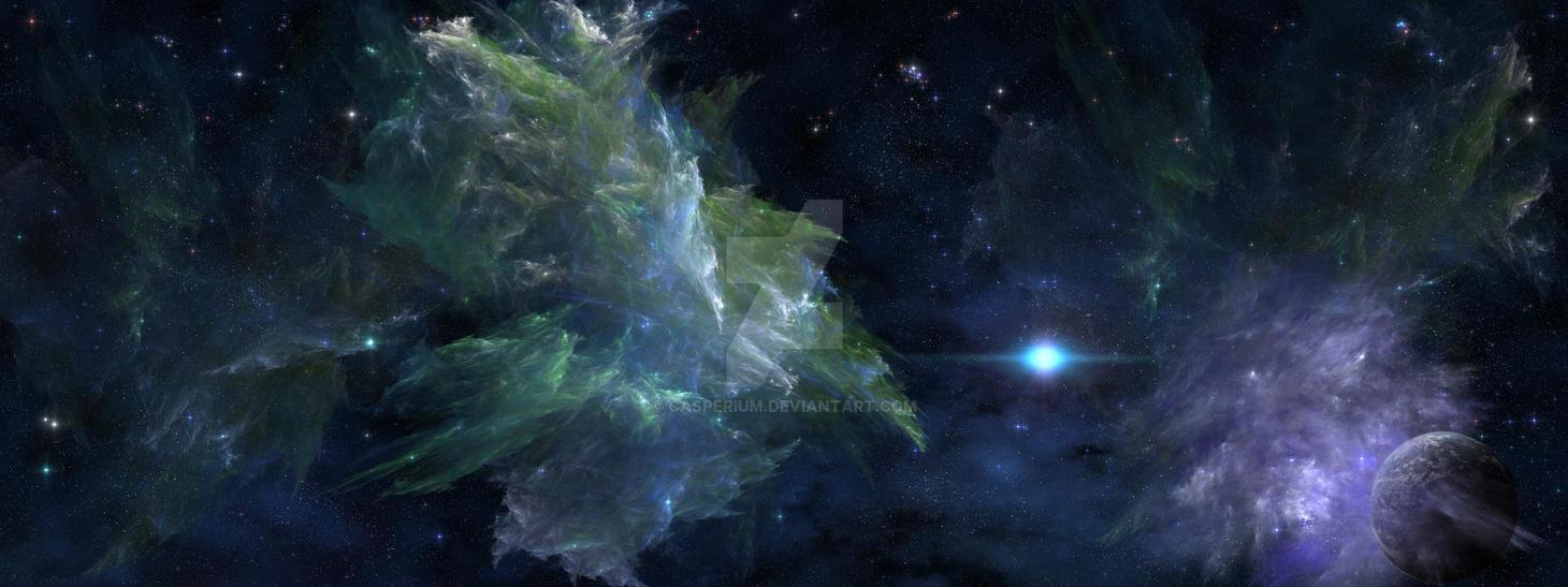 Hope Nebula by Casperium