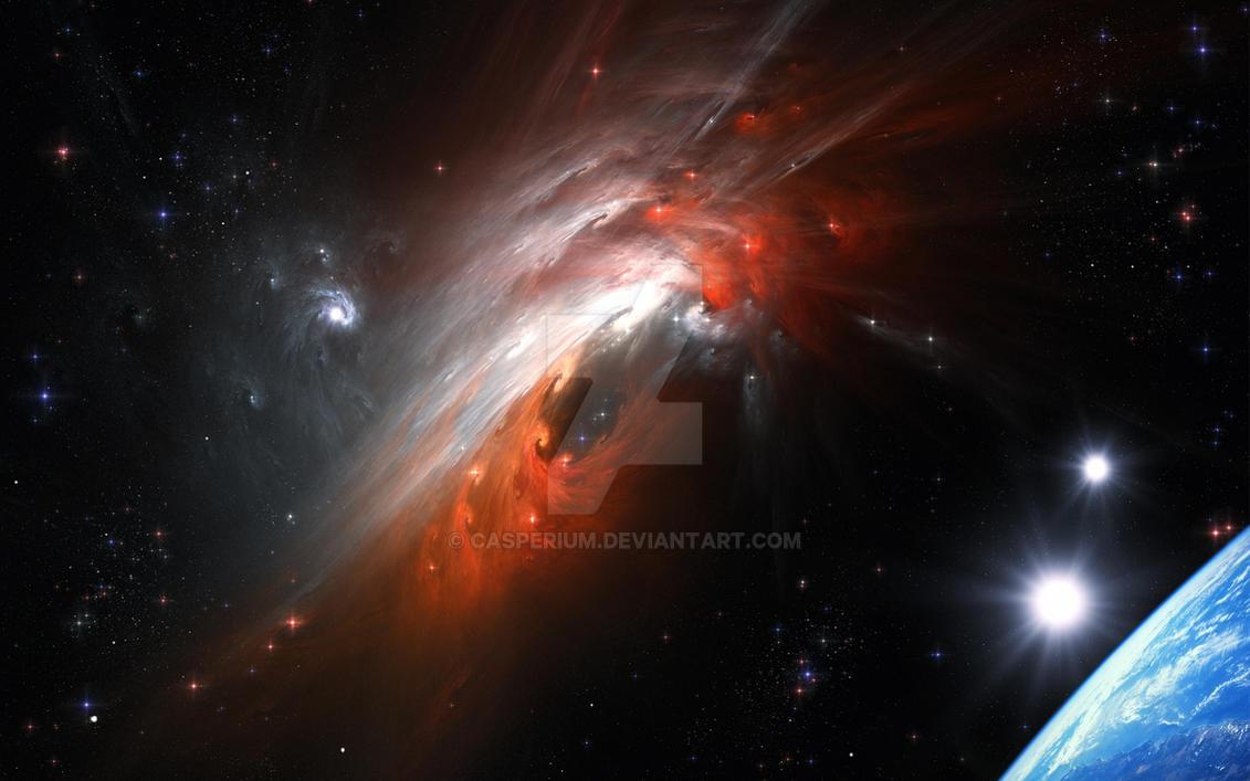 Cosmic Storm by Casperium