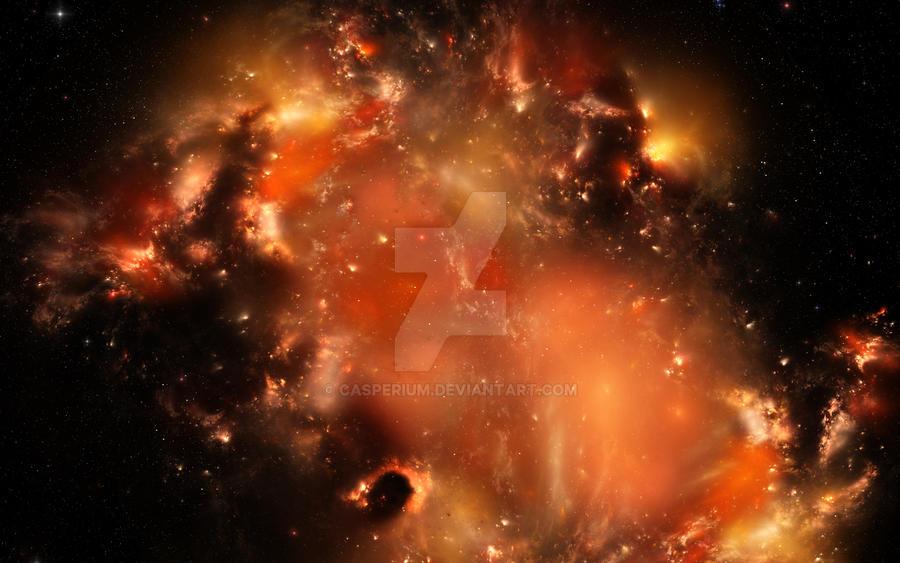 Sarekian Nebula by Casperium