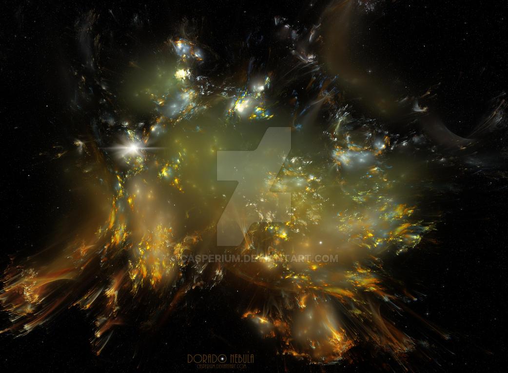 Dorado Nebula by Casperium