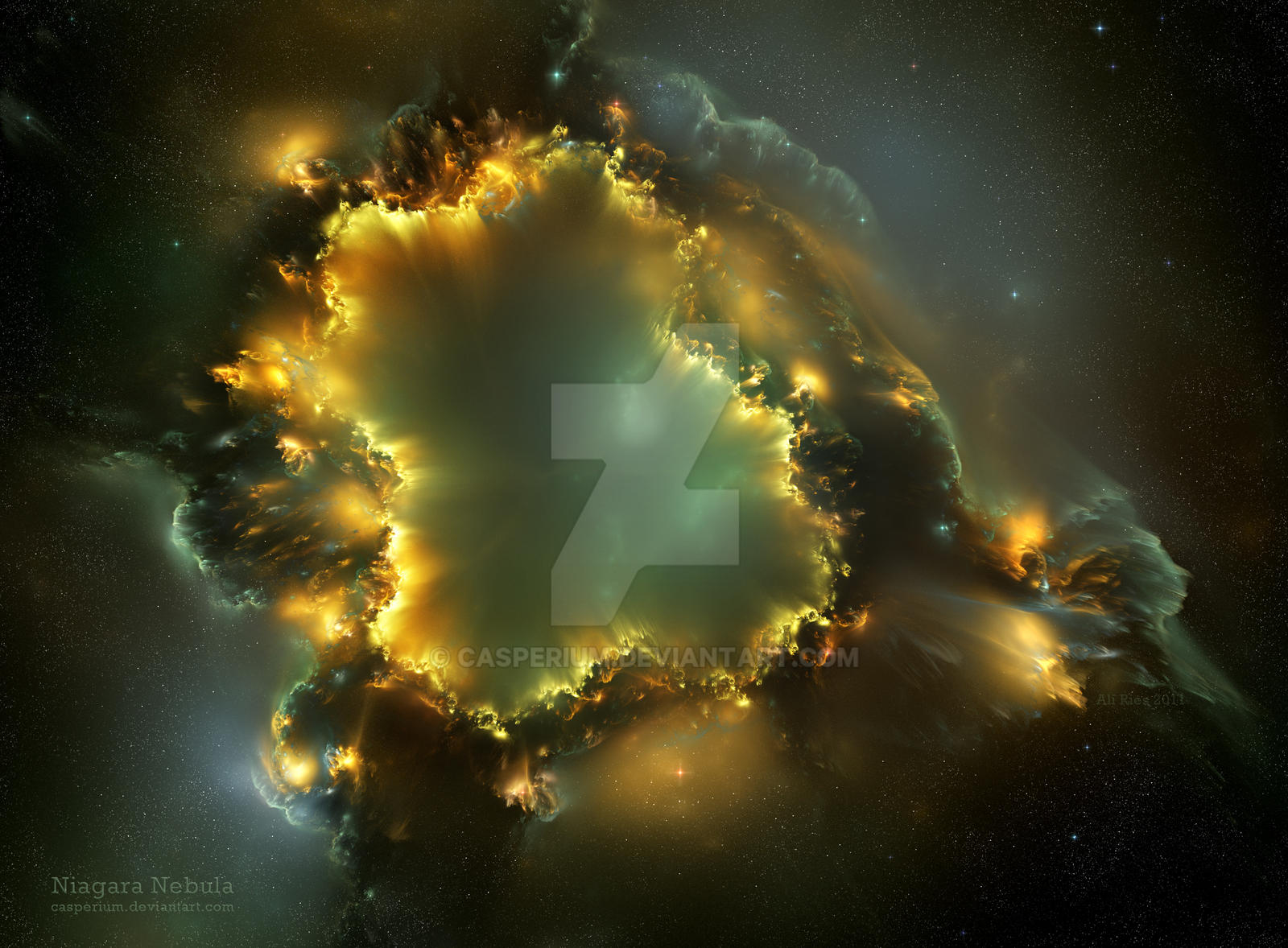 Niagara Nebula by Casperium