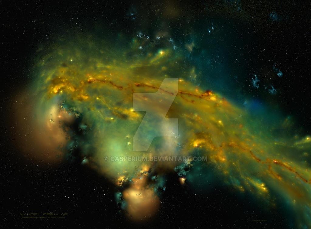 Mandel Nebulae by Casperium