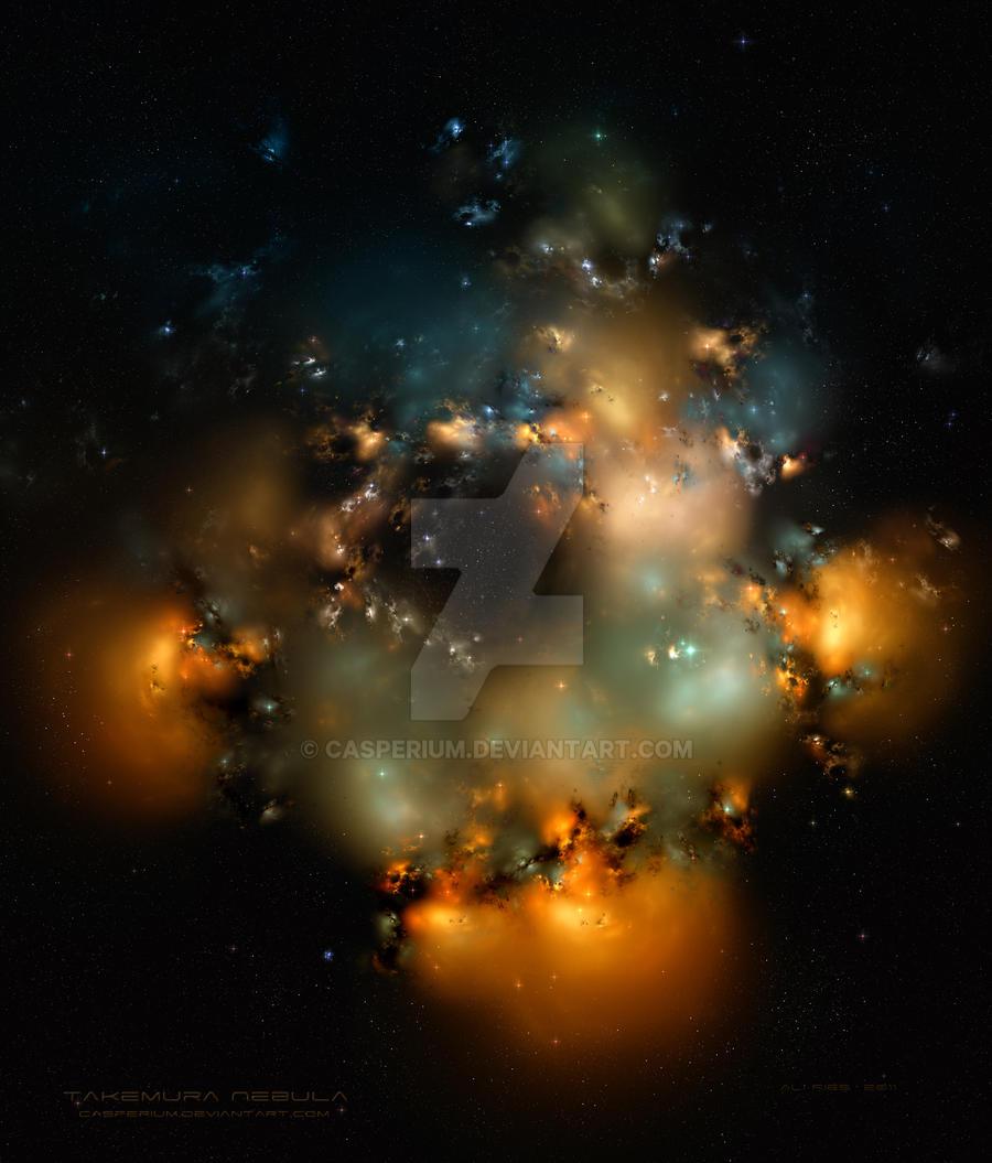 Takemura Nebula by Casperium