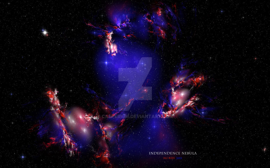Independence Nebula by Casperium
